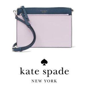 kate spade new york cameron leather zip crossbody